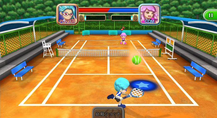 d3社风格体育世界新游《网球》上线switch平台纪112第28届卡通乒乓球锦标赛图片