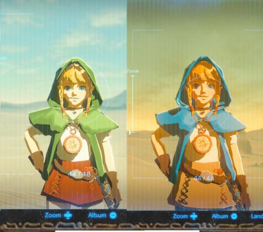 《塞尔达传说:旷野之息》林克妹妹linkle mod演示图片