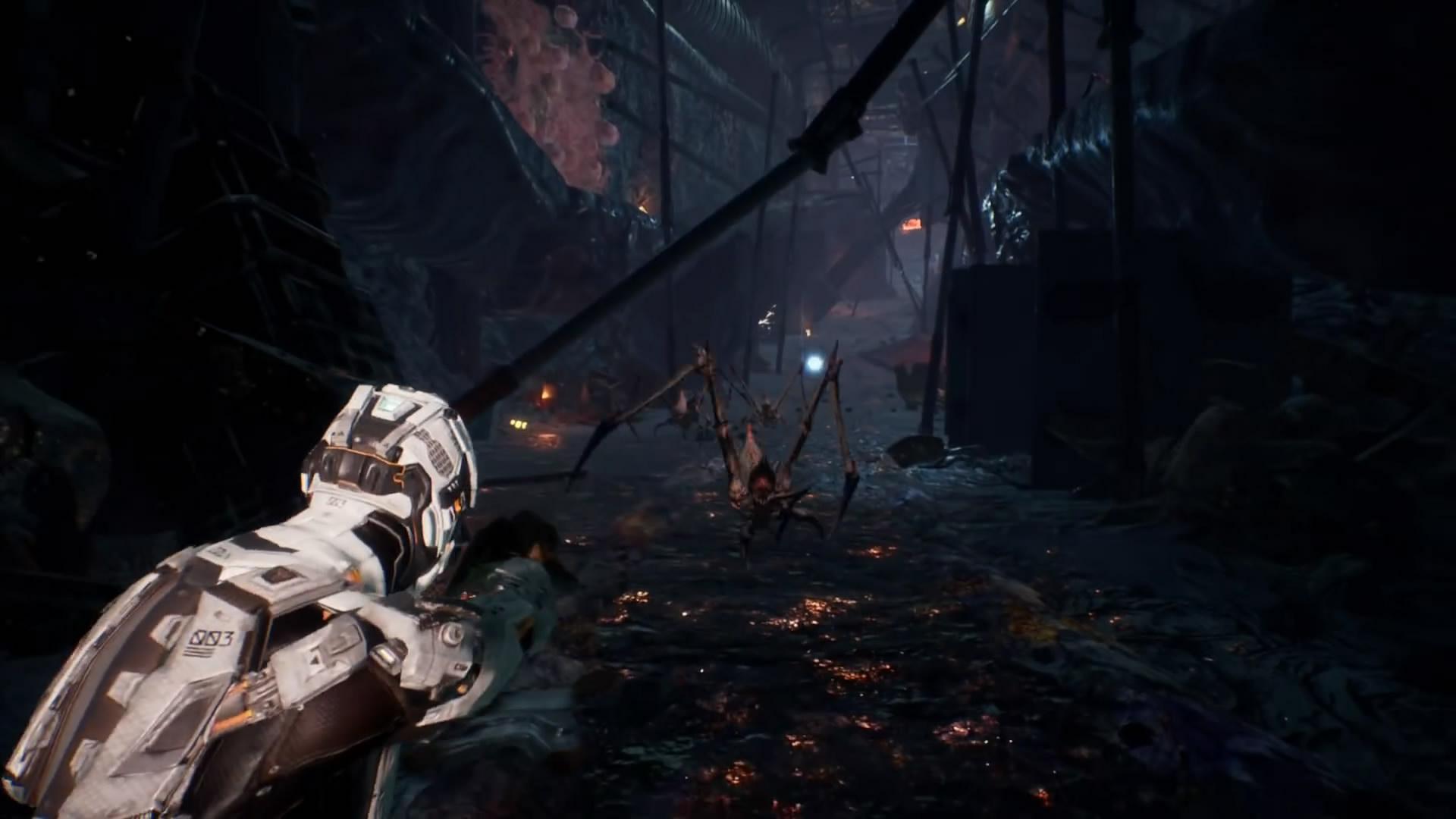 美工设计团队_科幻动作游戏《Dolmen》预告 黑魂与死亡空间合体_www.3dmgame.com