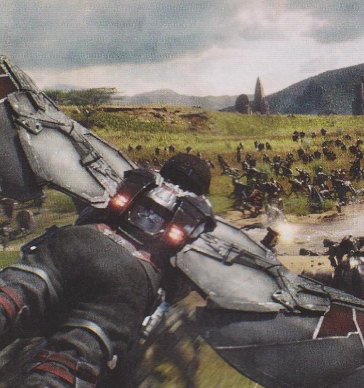 《复仇者联盟3》新剧照放出 星爵与钢铁侠同框