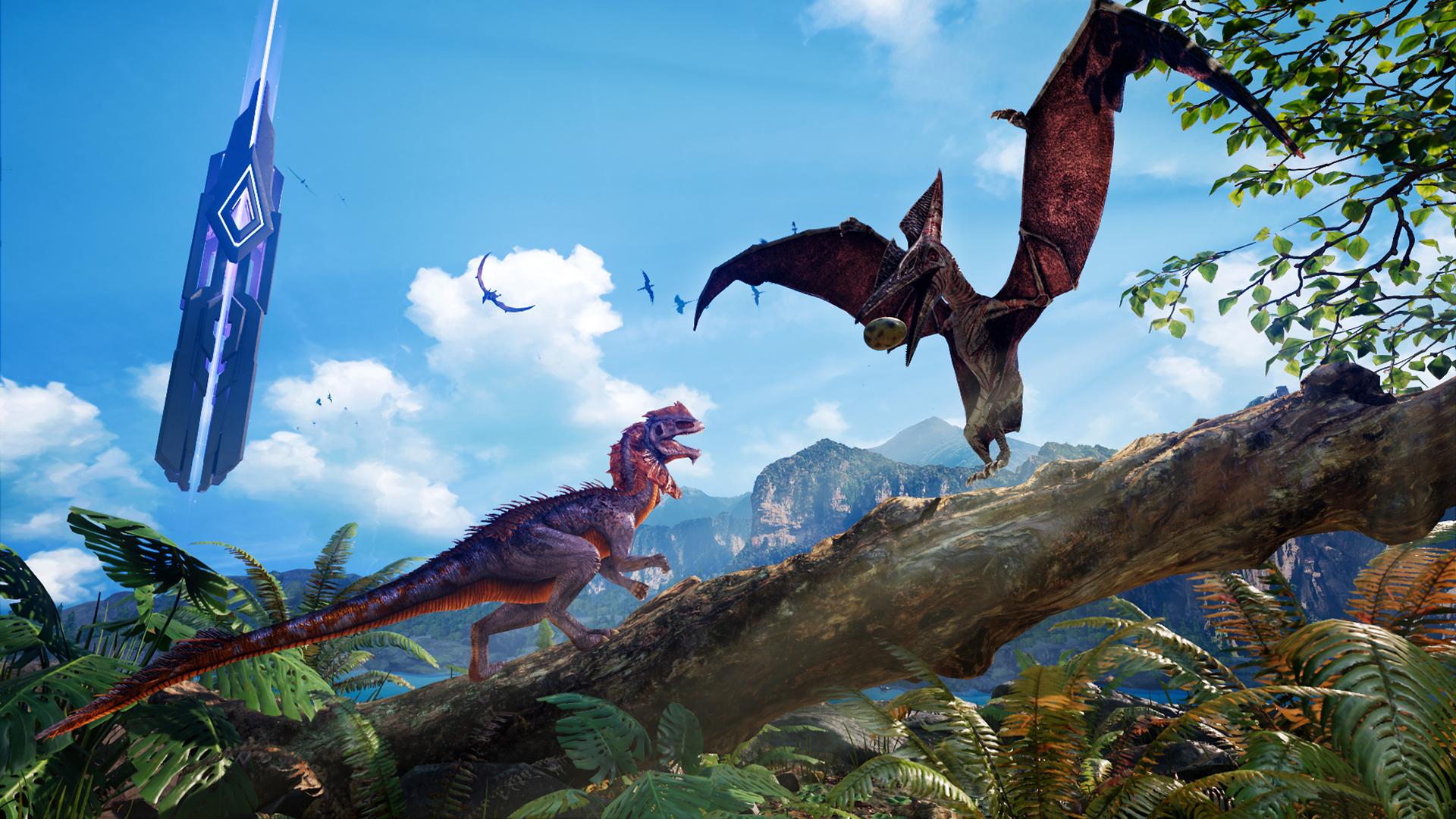 恐龙世界_最强画质恐龙世界探险vr《方舟公园》今日全球发售