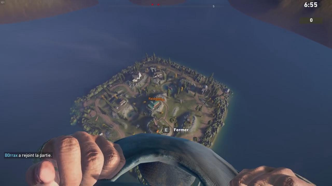 《孤岛惊魂5》大逃杀地图演示 翼装飞行酷炫图片