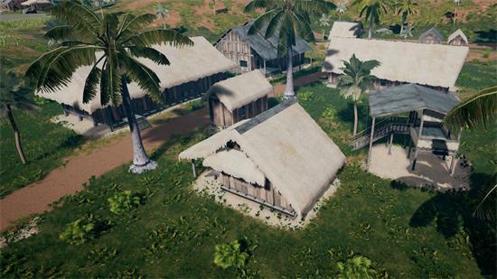 绝地求生攻略  茅草屋是新地图最典型也是最常见的建筑,符合海岛地图