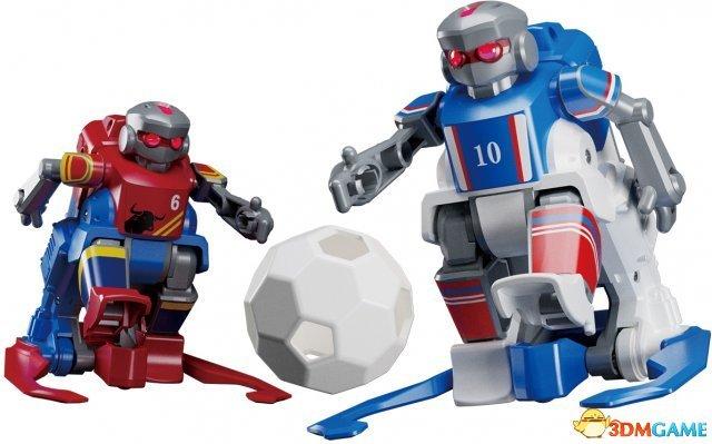 多人对战其乐无穷!TAKARA推出新足球机器人玩具