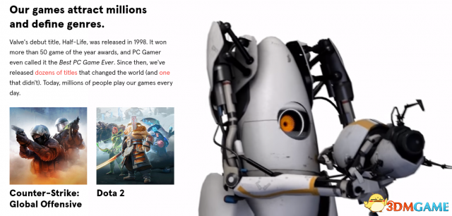 Valve全新官网上线 正在开发全新澳门皇冠官网 高度机密