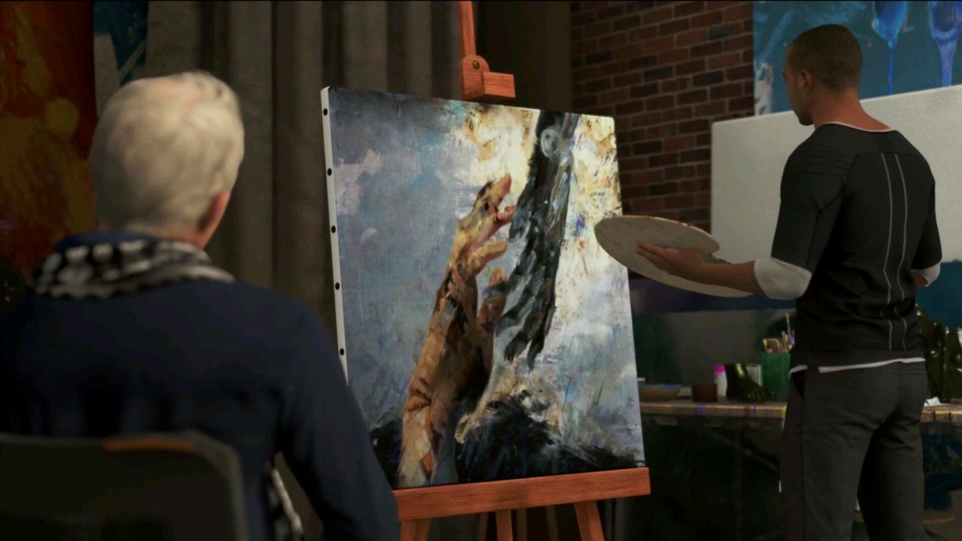 底特律马库斯_底特律变人马库斯画的画致敬彩蛋介绍
