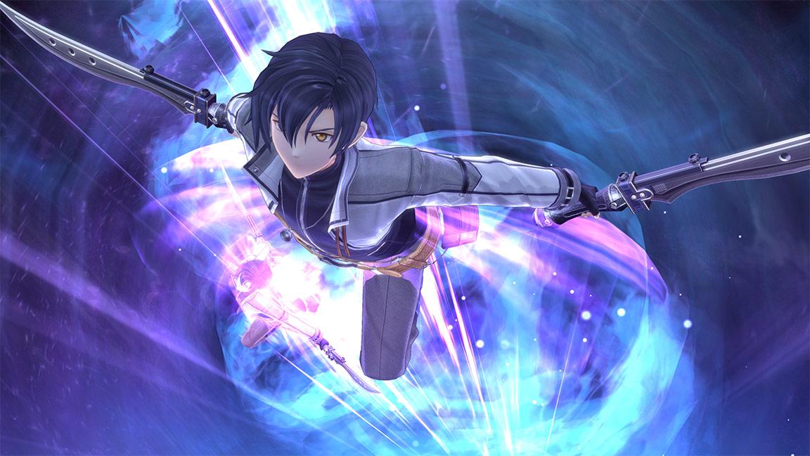 《英雄传说:闪之轨迹4》游戏截图 艾约携玲登场