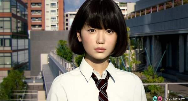 生田沙织初裏_高山沙织演绎《底特律:变人》机器人