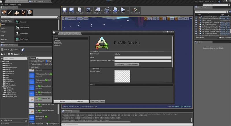 方块方舟发布mod编辑器,支持玩家自制皮肤,职业