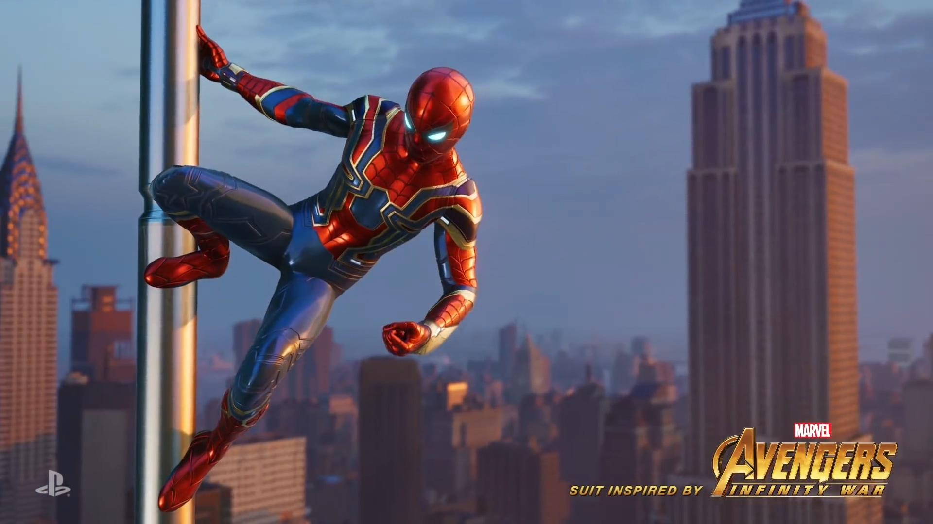 復仇者聯盟3 Image: PS4《蜘蛛侠》经典红蓝蜘蛛战衣首曝 粉丝高潮_www.3dmgame.com