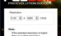 实况足球2016 开4K和5K分辨率方法 怎么开4K分辨率