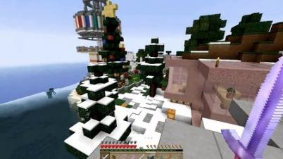 我的世界★Minecraft★1.8鬼鬼领域服24——圣诞快乐!五歌给大家送苹果6啦!-我的世界★Minecraft★1.8鬼鬼领域服24——圣诞快乐!五歌给大家送苹果6啦!