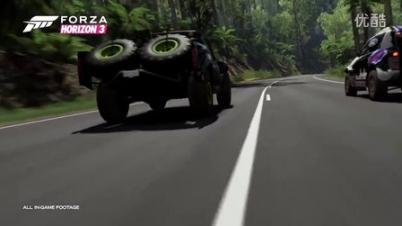 《极限竞速:地平线3》E3 2016官方预告片-《极限竞速:地平线3》E3 2016官方预告片