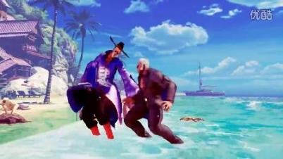 《街头霸王5》新角色展示视频——尤里安-《街头霸王5》新角色展示视频——尤里安