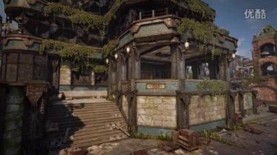《战争机器4》多人游戏地图Gridlock视频-《战争机器4》多人游戏地图Gridlock视频