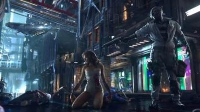 《赛博朋克2077》CG预告-《赛博朋克2077》CG预告
